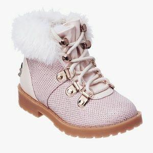 juicy couture lil huntington faux fur boots